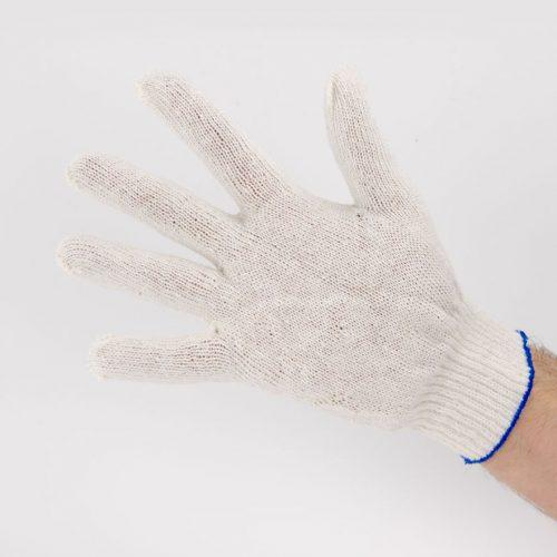 Перчатки рабочие 10 класс 4 нити белые