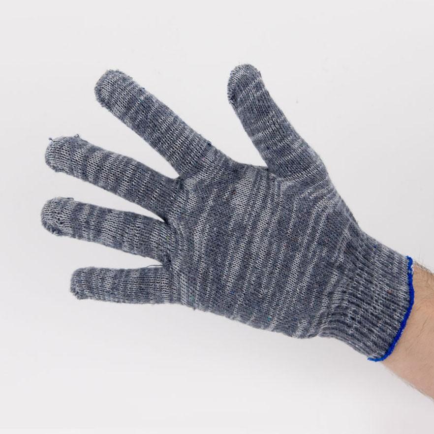 Перчатки рабочие 10 класс 4 нити серые березка