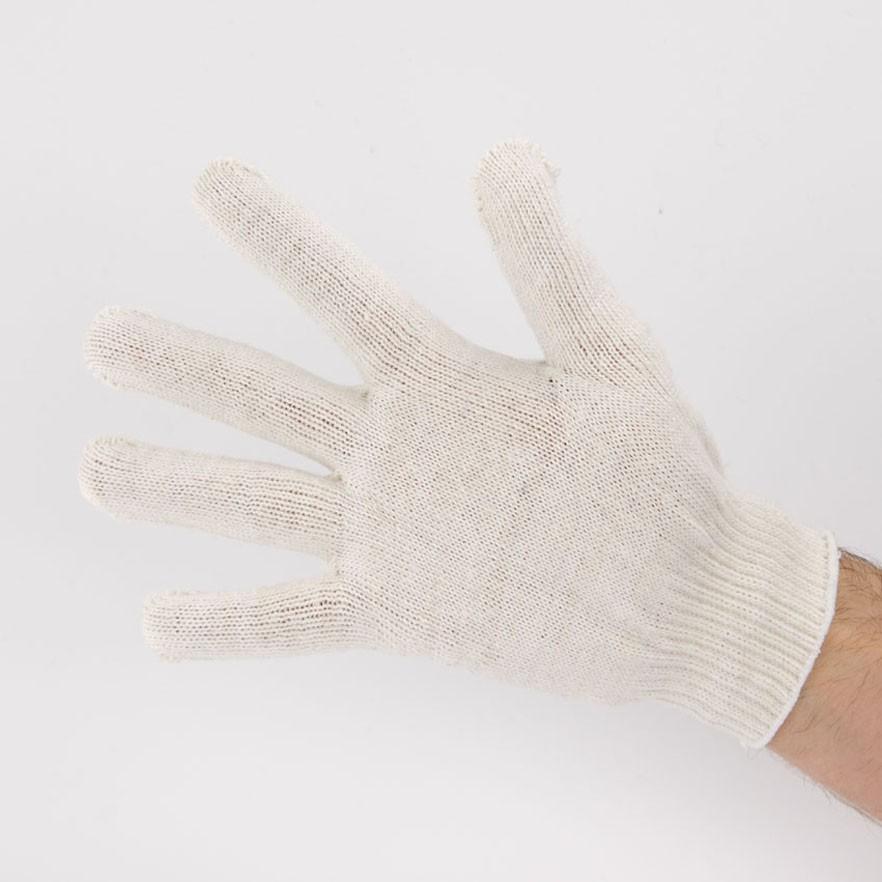 Перчатки рабочие 10 класс 5 нитей белые