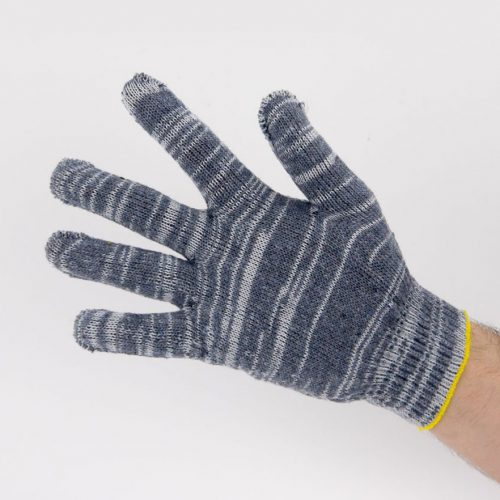 Перчатки рабочие 10 класс 5 нитей серые березка