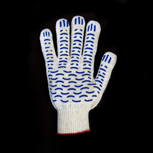 перчатка рабочая 6 нитей белая волна