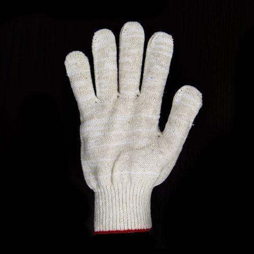 Перчатки хб 10 класс 6 нитей белые