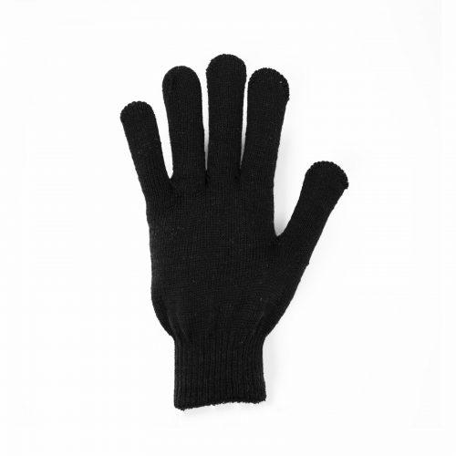 Перчатки 10 класс 6 нитей без пвх черные